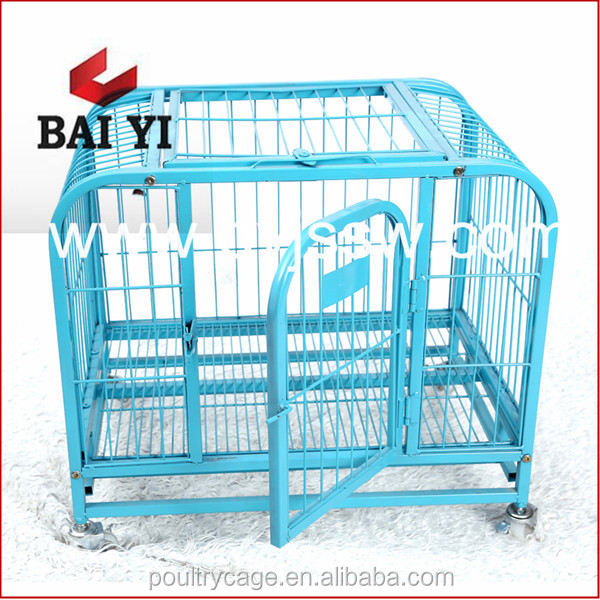 China Supplier Painted Garden Dog House And Welded Wire Dog Kennels