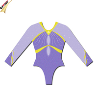 Wholesale Long Sleeve Gymnastic Leotards With