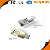 WOPOW Hot Product fingerprint 64gb usb flash drive