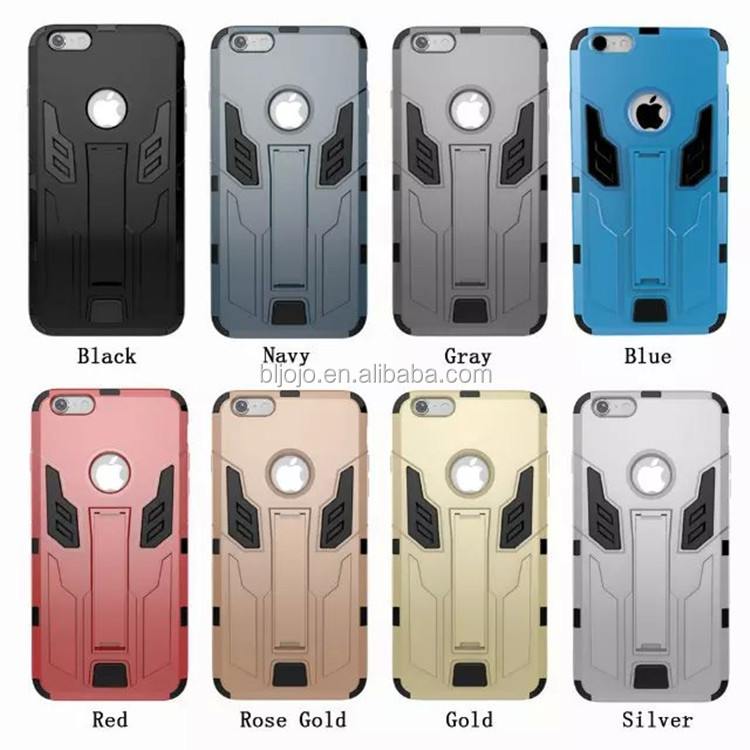 New models are combined robot style mobile phone case For iphone 6Splus