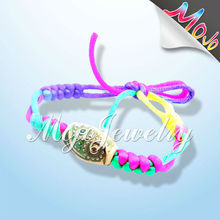 New Fashion Satin Woven Crystal Mood Bead Bracelet