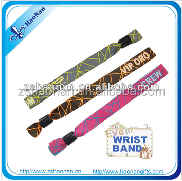 Personalized woven wristbands/id wristband