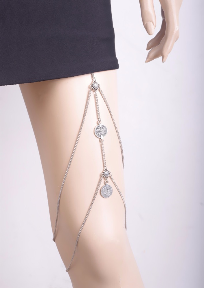 silver payal leg chain wholesale with good price