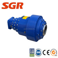 Bonfiglioli 300 series planetary gearbox output spline key slewing drive motor solar