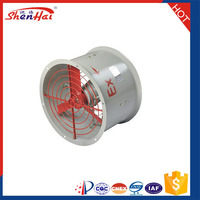 Discount Now Lower Power Aluminum alloy Shell 12 / 14 / 16 / 18 inch '' Explosion Proof Axial Flow Fan