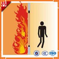 The Rate of Fire Glass Door