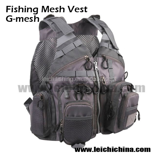 High quality mesh fly fishing vest
