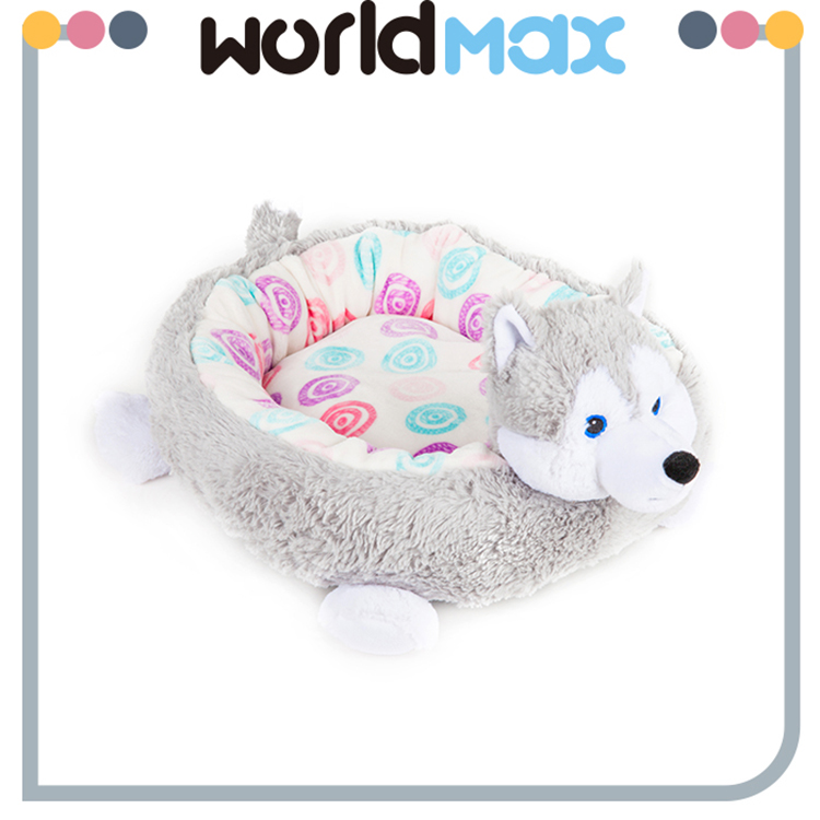 Latest Promotion Price Super Soft Animal Mat Plush Elevated Pet Bed Dog Kennel