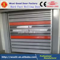 Luxury Hard Fast Rolling up Shutter Aluminum PU Foam Door