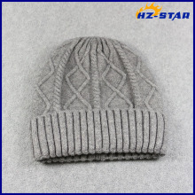 HZM-17012001 Men's Women Beanie Ski Cap Hip-Hop Unisex Winter Wool Knitting Hat