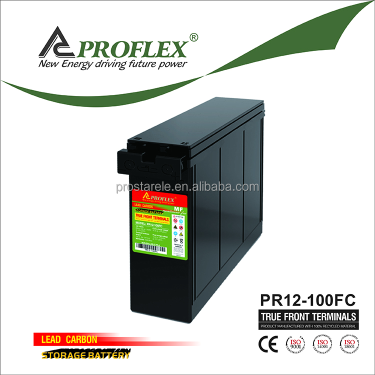 Proflex Deep cycle long life 12V solar system kit made in china battery