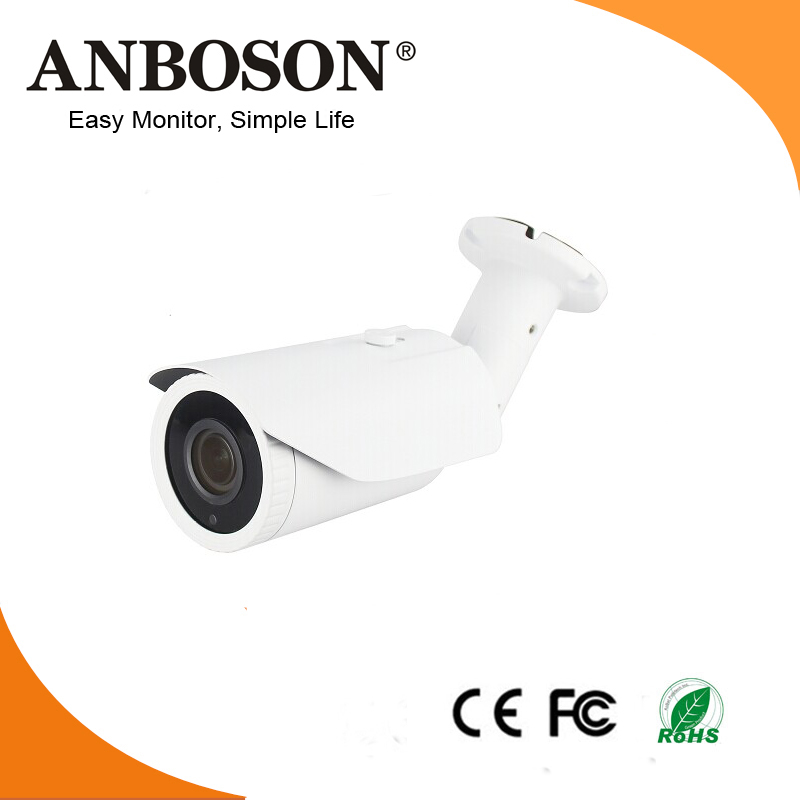 2MP live feed varifocal zoom lens IP66 outdoor business security cameras with different types