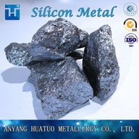 Pure China Metallic Si Silicon Metal