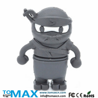 Tomax Alibaba wholesale black ninjin USB flash pen drive accept paypal 8G to 64G in stock Mix order