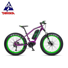 OEM 24 Inch BAFANG electric motor bike fat tire snow bike electric bicycle