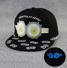 Most popular Fashion minion baseball cap cotton hiphop hats