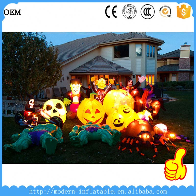 latest halloween inflatable for decoration giant halloween inflatables pumpkin