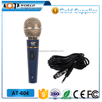 wired dynamic magic microphone karaoke factory wired plastic mic price