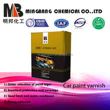 Auto body paint 2k high gloss clear coat