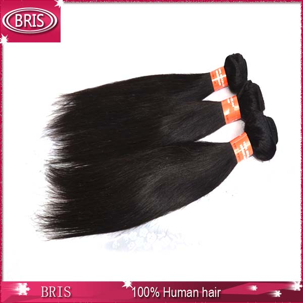best selling natural black color #1b weave hair brazilian <strong>human</strong>