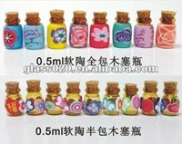 0.5ml mini delicate perfume bottles , glass bottle