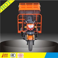 1.2*1.7m Cargo Box Hydraulic tipper 200cc gasoline tricycles
