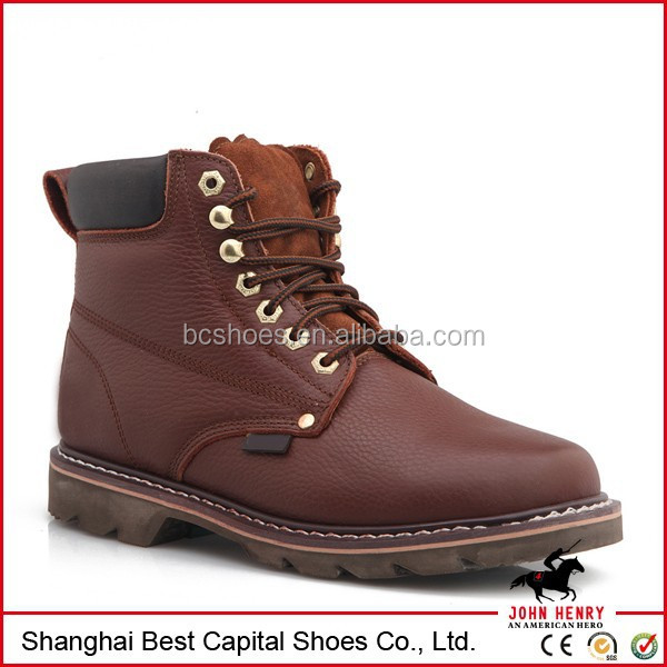 Genuine Leather High Quality Safety Shoe/puncture ...