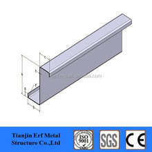 light weight z channel steel sectional weight structure