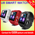 1.54 inch capactive touch screen smart watch dz09 Support SIM Card can make phone call