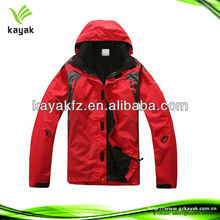 2014 Promotion nylon windbreaker plus size women and men hooded jacket for winter