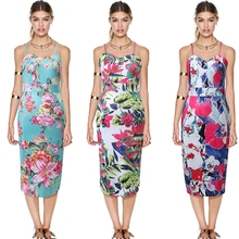 MS67330W 2015 summer printed dresses wholesale clothing tall women