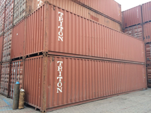 40 old cargo containers for sale