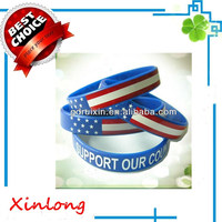 Custom Imprint Silicone Bracelet From China