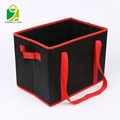 Homey Customized Promotional Foldable Non Woven Fabric Underwear Shoes Storage Box With Lid