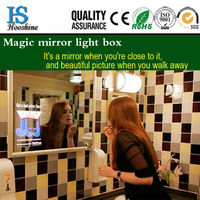 hot sale magic mirror led picture frame