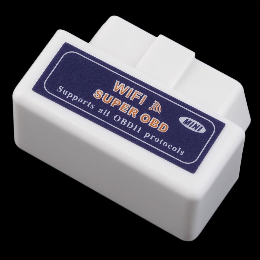 Mini ELM327 WiFi ELM 327 OBDII Car Diagnostic Tool OBD2 Code Reader Scanner For IOS Android ELM WiFi 327 white hot selling