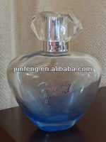 90ML colored glass perfume bottle with hot stamping