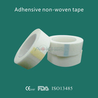 Free Sample medical disposable adhesive non woven paper tape