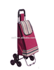 RH- FT02 Home-essential fabric foldable shopping cart with six wheels