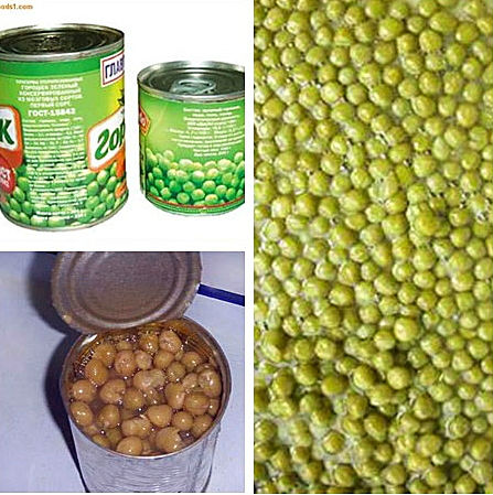 good quality canned green peas