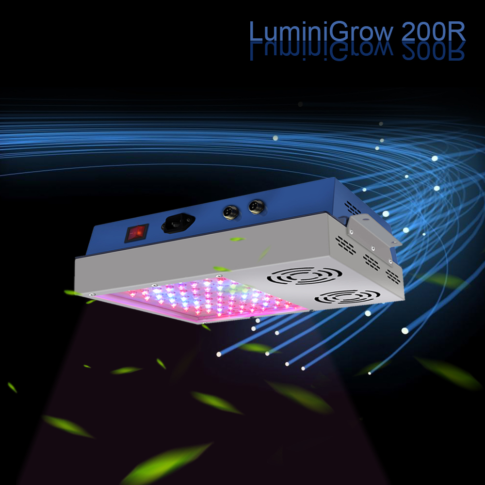 2018 Luminigrow 600R Full Spectrum 5W Double Chip 600W Led Grow Light For Growing Tomato