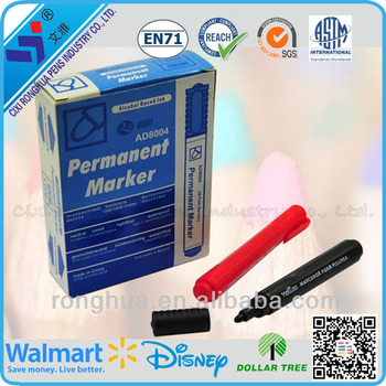 2015 China permanent waterproof skin marker pen