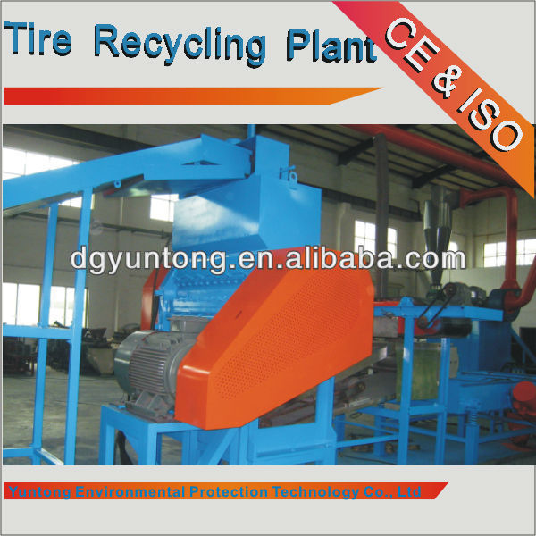 scrap tire shredder machine/waste tire shredder equipment