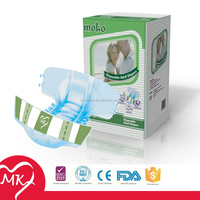 Comfy soft Cloth-like Breathable Baled South Africa Pakistan Ghana Cheap Baby Nappies manufacturer in China