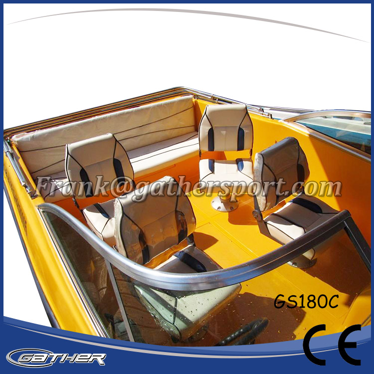 GATHER 5.5M FIBERGLASS SPORT BOAT GS180C-009