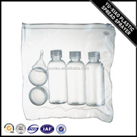 Gold supplier China WK-T-6 high quality empty travel bottle set