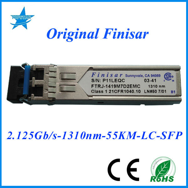 Original Finisar SFP FTRJ-1419M7D2EMC 2.125Gbps 1310nm 55km Finisar fiber optic module fiber optic home network