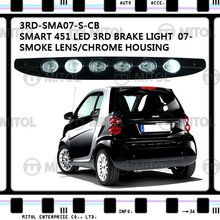 For Smart Fortwo 451 07-On Smo/Chr Brake Lamp Brake Light