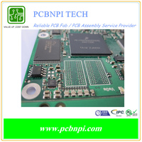 Competive Price Copper PCB FR4 PCB for LED/computer/Machines quality printed circuit board fab & assembly