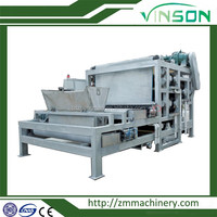 Plate and frame filter press machine for wastewater treatment